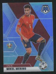 2021 Mosaic UEFA EURO MIKEL MERINO Silver Holo #165 Spain