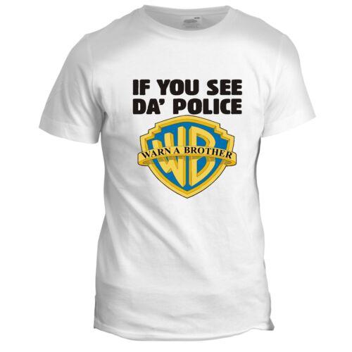 Avertir un frère Rétro TV Film Comédie Film Homme Dads Classic Cool 2 T Shirt