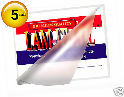 Oregon Lamination Hot Laminating Pouches Small Menu Pack of 50 5 Mil 11-1//2 x 17-1//2 Matte//Matte