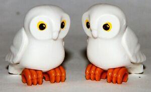 Playmobil Lotx2 30 67 6453 30676453 Blue Blu Owl Animals Friends Zoo Bird 9470