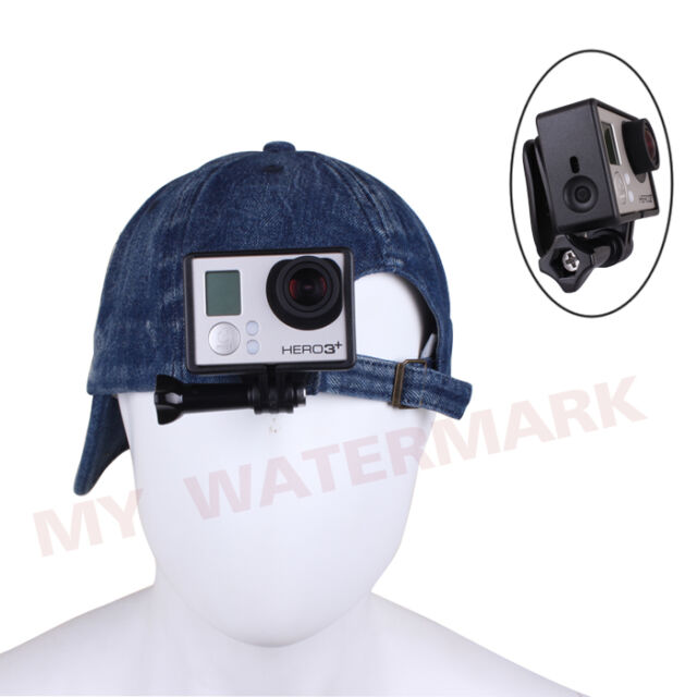Head Strap Quick Clip Clamp&Standard Frame Cover Mount for GoPro HD Hero 3 3+ 4