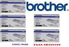 Brother TN660 High Yield Mono Laser Toner Cartridge 2-pack - Preowned