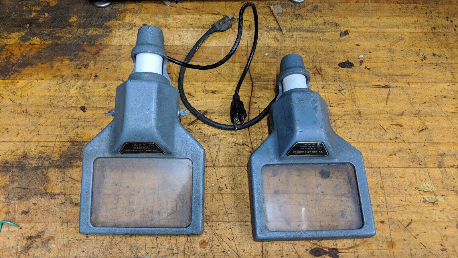 BALDOR Grinder Lighted Eye Safety Shield guard set of 2