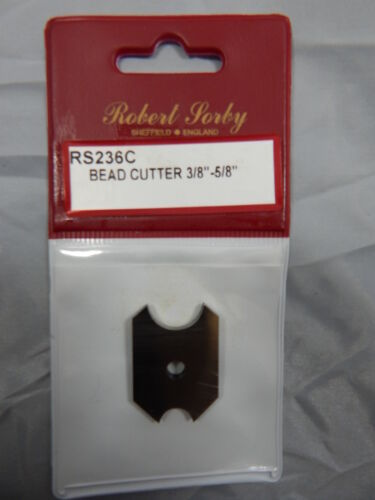 "LAMA INTERCAMBIABILE IN HSS RS236C BEAD CUTTER 3//8/"" /& 5//8/"" Robert Sorby"