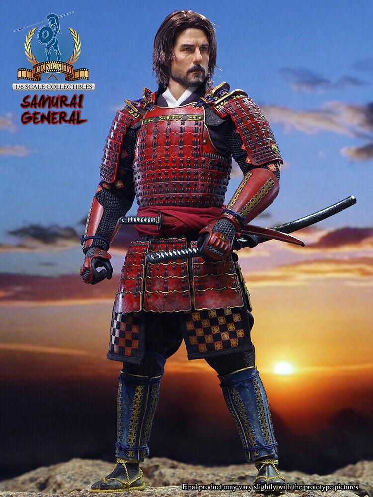 (US) 1 6 Pangaea Toy PG06 Samurai General The Last Samurai Nathan Algren Figure