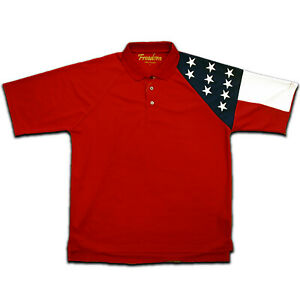 Mens-Allegiance-Moisture-Wicking-Navy-Polo-Shirt-Red-Free-Shipping-RP807