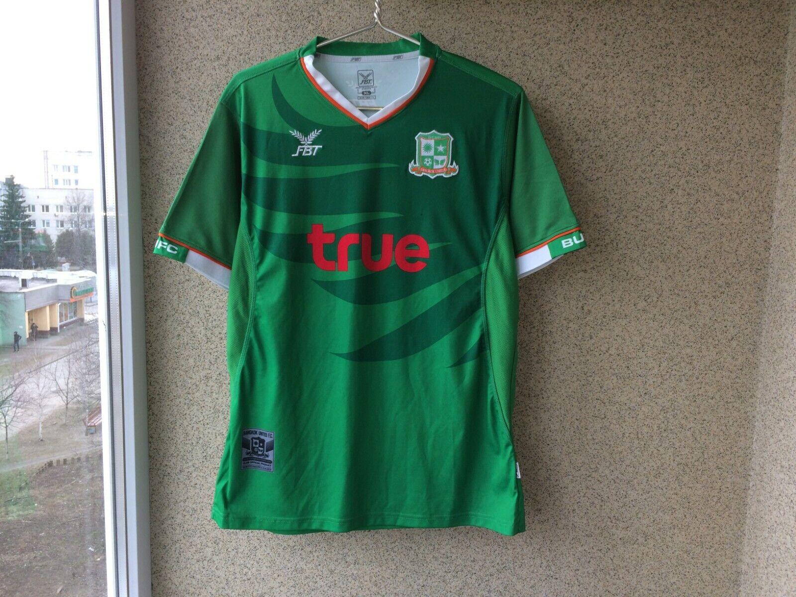 06894fbbd94 Bangkok United Football Shirts XL Jersey Soccer Thailand Camiseta FBT