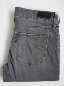 Levi-039-s-05703-Demi-Curve-Jeans-Damen-Skinny-Fit-w28-l31-mittelgrau-levq-261