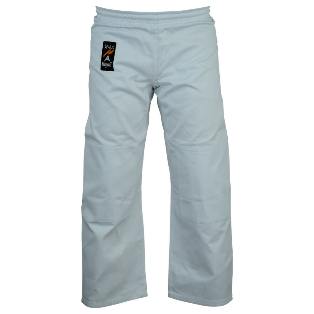 Playwell Judo Bleached White Trousers Childrens Kids
