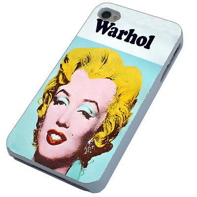 Marilyn Monroe Warhol phone case iPhone 4,4s,5,5s,5c,6,Samsung S3 S4 S5 Mini HTC