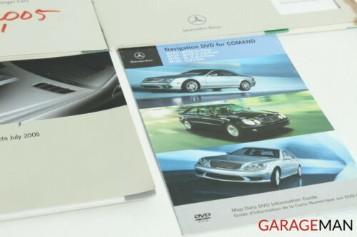 Mercedes-Benz W211 E320 E500 Owner/'s Operator/'s Manual Guide Book Assembly OEM