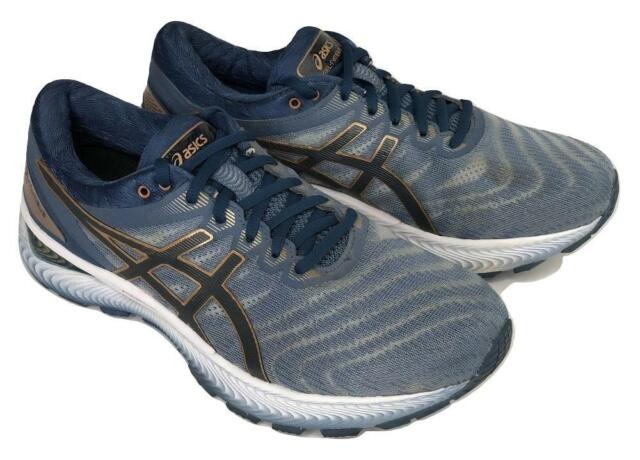 Men's ASICS GEL-Nimbus 22 Running Shoes Sheet Rock Grey Size 8 US 2E-Wide