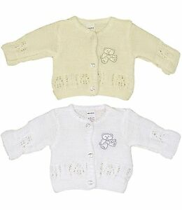 479a4cf09ce7 BabyPrem Preemie - 6m Baby Boys Girls Clothes Knitted White Cream ...