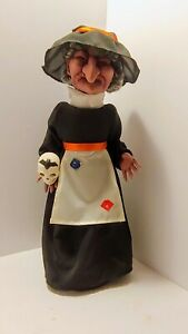 Vintage Telco Motionette Witch with Skull
