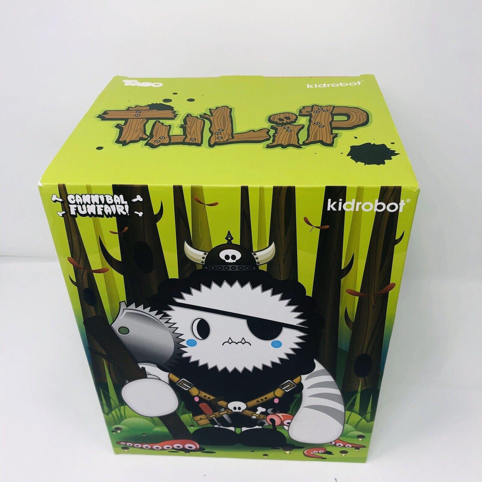 Kidrobot Tulip 7  Large Figure By TADO Cannibal Funfair 2008 New Open Box