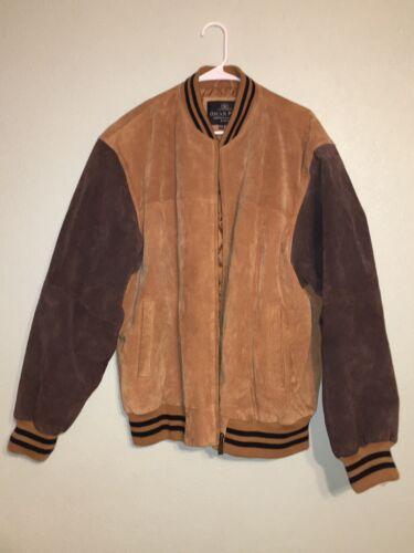 Oscar Piel 100% Leather Shell Letterman Jacket XXL