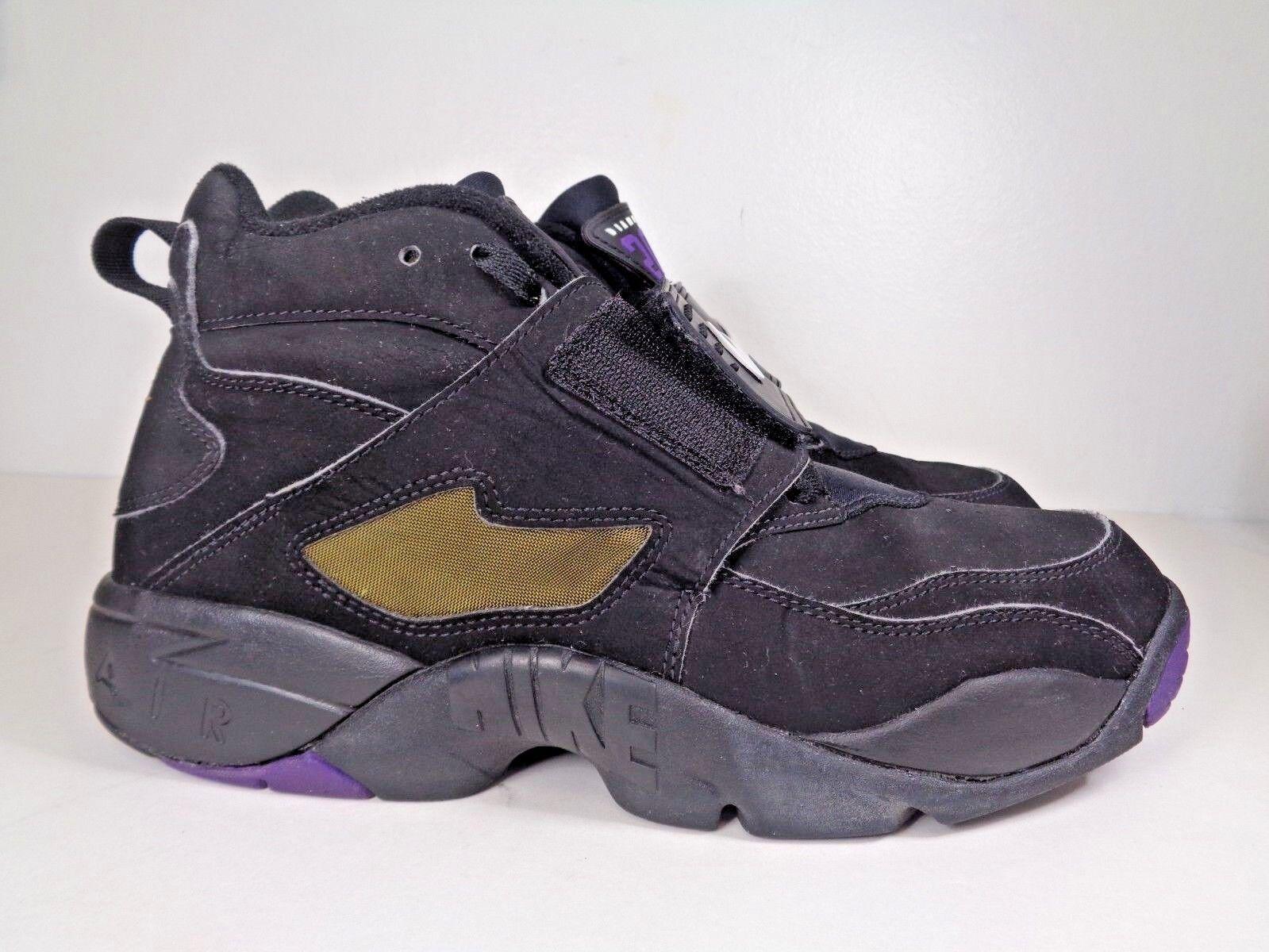 Uomo nike air diamond territorio, allenatore di basket scarpe taglia 9 noi 316408-003 2010