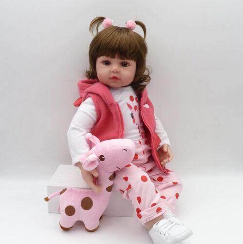 2019 NEW bebes reborn doll soft silicone dolls com corpo de silicone menina baby