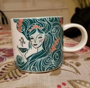 Details About New Starbucks Holiday 2018 Cup Blue Aqua Siren Mermaid Ceramic Mug 12oz