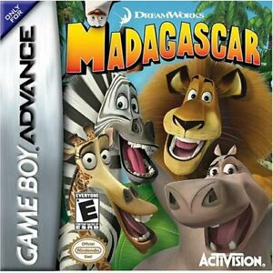 Madagascar - 2005 Action Game - Nintendo Game Boy Advance GBA