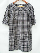 COMPTOIR DES COTONNIERS : Robe chemise imprimé écossais, 100% coton , T40