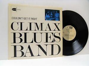 CLIMAX BLUES BAND couldn't get it right LP EX/EX, C5 508, vinyl, album, uk, 1987