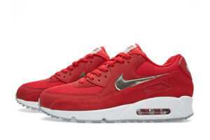 Cheap Nike Air Max 90 Mens Red For Free Shipping !