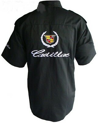 2XL Cadillac Crest 2014 Emblem Prestige Cars SUVs Sedan Crossover T-Shirt S