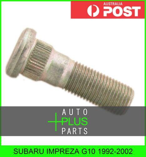 Wheel Hub Stud Lug Fits SUBARU IMPREZA G10 1992-2002
