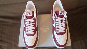 air force 1 low rouge et blanche