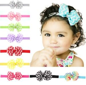 10-Pcs-Kids-Girl-Baby-Headband-Toddler-Lace-Bow-Flower-Hair-Band-Accessories-US