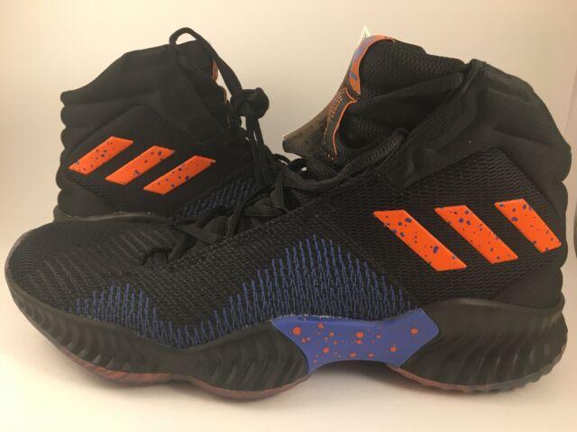 7459692a9022 adidas Pro Bounce 2018 Kristaps Porzingis Black Orange B41990 Men s Size  11.5 for sale online