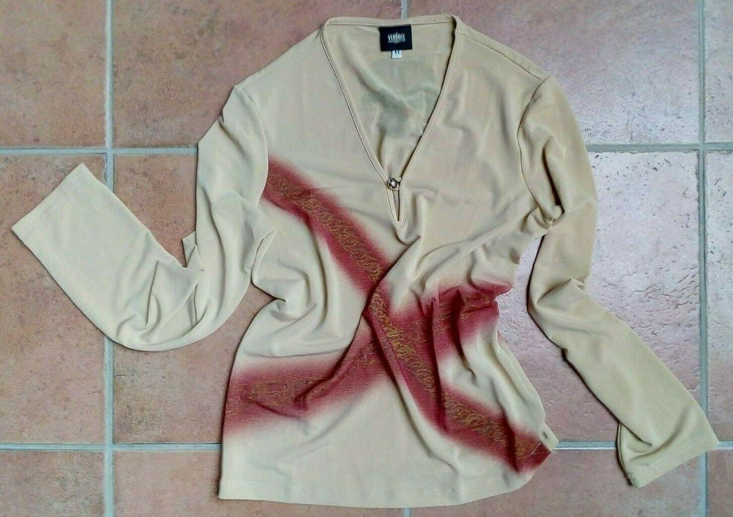 VersaceJeansCouture Damen Shirt, Gr. M, Neu o. E., Koffer   Business Shirt