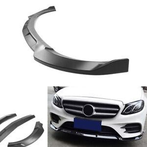 Pare-chocs-avant-Lip-Cover-Trim-For-Benz-W213-E-Classe-Sport-Version-2017-2018-GK