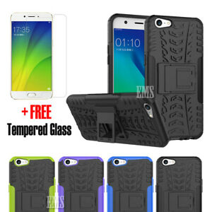 best authentic 24b42 5f94e Heavy Duty Tough Shockproof Rugged Case Cover For Oppo A57 + FREE ...