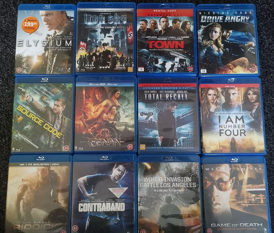 Blu-Ray film, Blu-ray, action