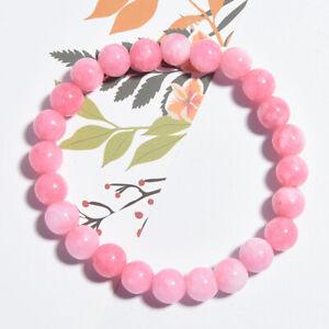 Handmade-Natural-Gemstone-Beads-Stretch-Bracelet-Guerison-Reiki-Femmes-Bijoux-S