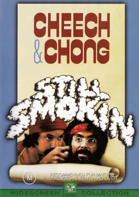 STILL SMOKIN' Cheech & Chong DVD R4  PAL New   SirH70