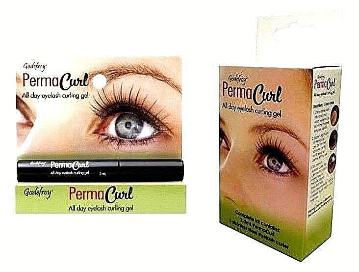 Godefroy 902 Permacurl All Day Eyelash Curling Gel Complete Kit Ebay