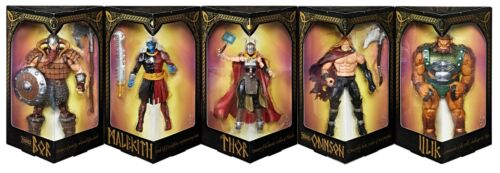 San Diego comic-con 2017 HASBRO MARVEL exclusives LEGENDS SERIES Battle of Asgard 5-Pack Figures