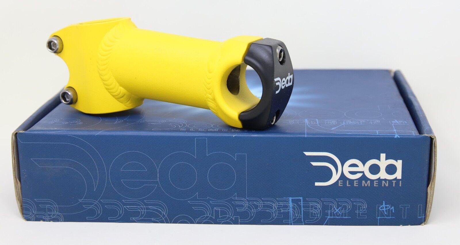 DEDA ELEMENTI LYNX AHEAD A-HEAD STEM - 90MM  1   CLAMP 26 - YELLOW - NOS NIB  order now lowest prices