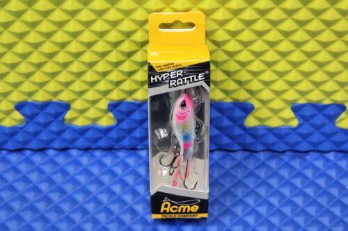 """Acme Tackle Company Hyper-Rattle Hard Jig Bait 60mm 2-1//2/"""" HR6 CHOOSE UR COLOR"""