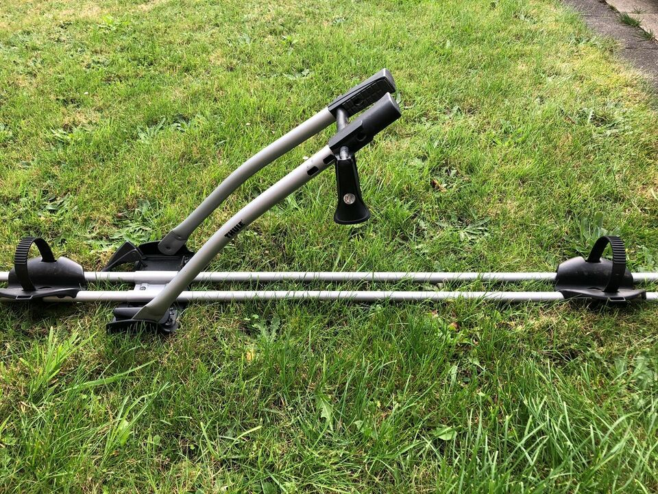 3 stk cykelholdere til tagbøjler, Thule