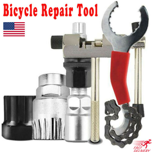 Bicycle Repair Tool MTB Bike Chain Cutter Chain Removel Bracket Remover Kit Tool