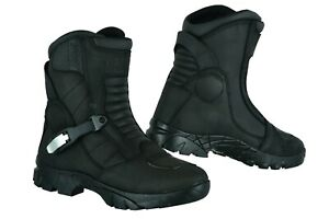 Raxid-Adventure-Mid-Waterproof-Motorcycle-Boots-Touring-Real-Leather-Motorbike-R