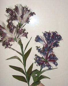 Silk Trumpet Blossoms display flowers (1 dozen)