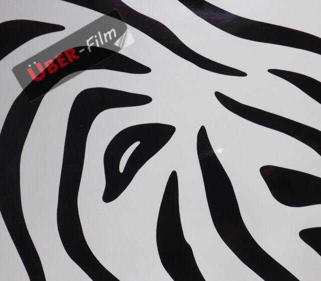 Uber-Film Roll Zebra Print Self Adhesive Sign Vinyl Film Sticky Back Plastic