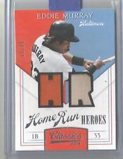 2014 Classics Baseball Eddie Murray Home Run Heroes Jersey Bat Card # 65/99