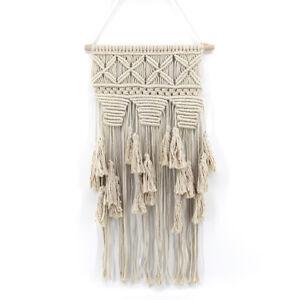 Image Is Loading Handmade Macrame Wall Hanging Woven Art