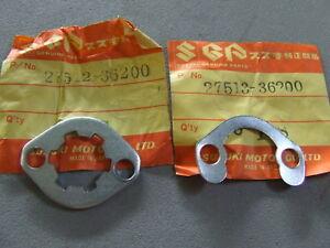 NOS-Plate-amp-Washer-Suzuki-RV90-GT125-GT200-TS125R-TS200R-27512-36200-27513-36200